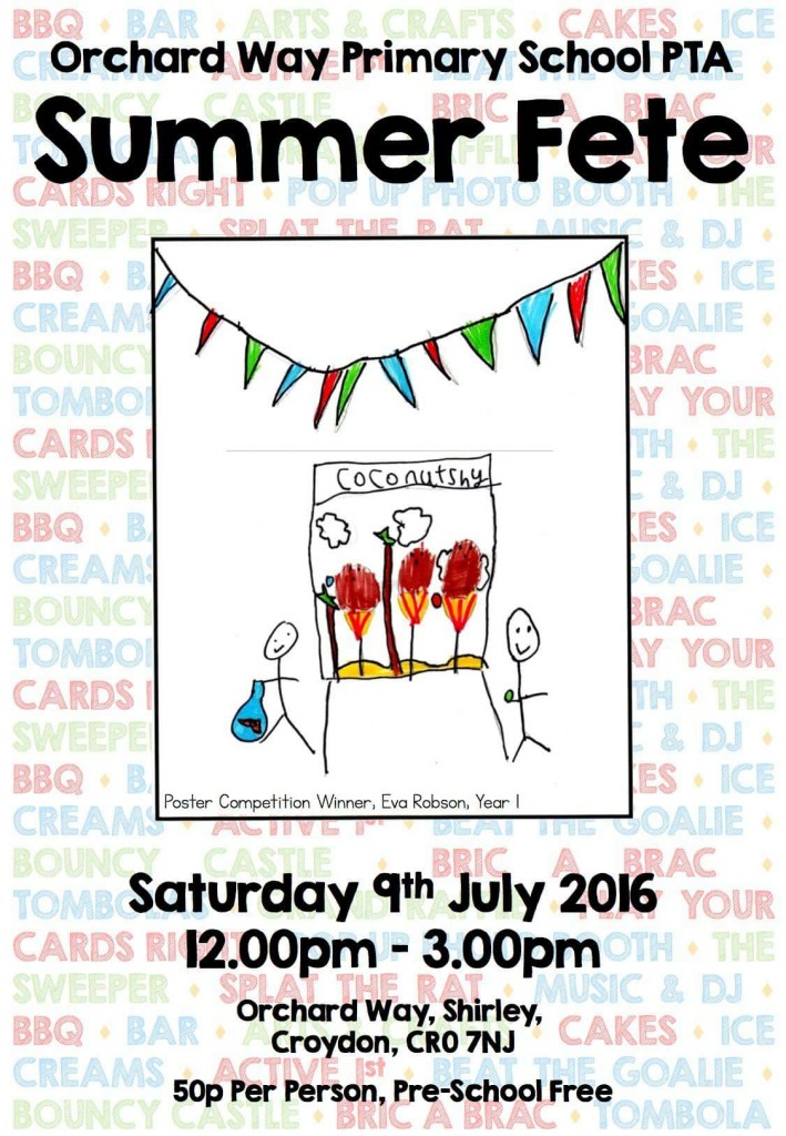 Orchard Way 2016 Summer Fair