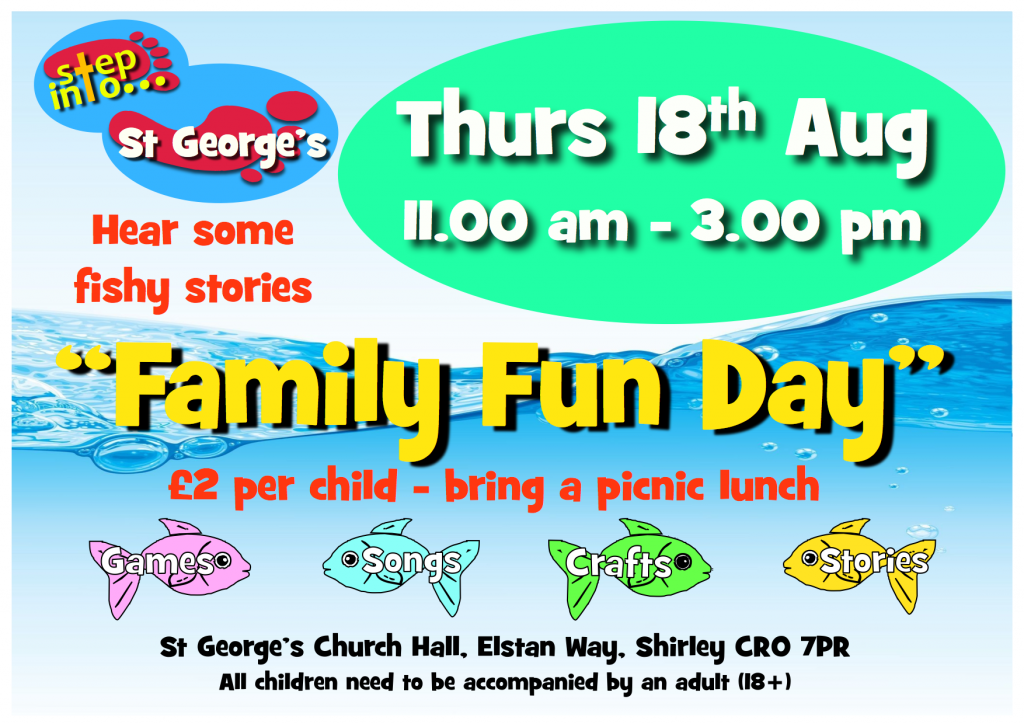 St Georges Church Family Fun Day 2016