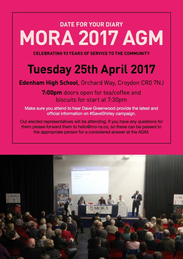 MORA AGM 2017 Advert