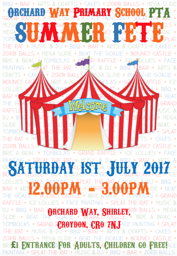Orchard Way Summer Fete 2017